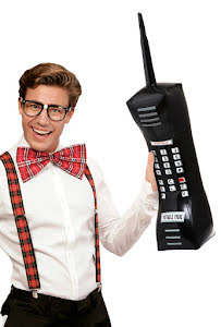 Uppblåsbar telefon