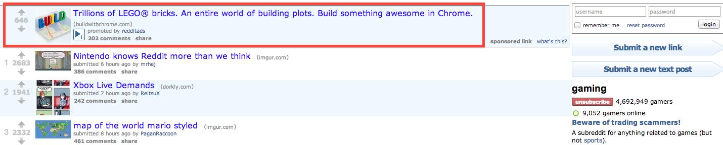 Reddit's Efforts Toward A Positive Advertising User