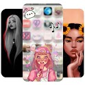 Girly Girl Wallpapers 2020 icon