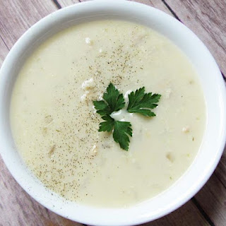 Traditional Avgolemono Soup