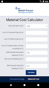 Concrete Pipe Calculator- screenshot thumbnail