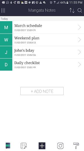 生產應用必備免費app推薦 Mangata Notes - The notes app線上免付費app下載 3C達人阿輝的APP