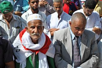 Photo: Prayer in Tahrir Square.