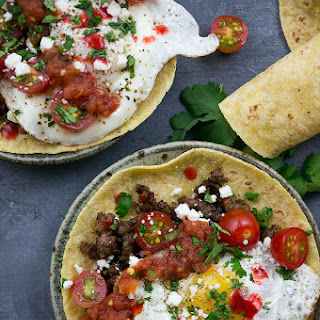 Huevos Rancheros Breakfast Tacos Recipe
