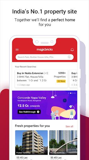 Magicbricks Property Search & Real Estate App screenshot