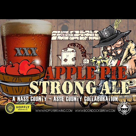 Logo of Boondocks Apple Pie Strong Ale