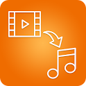 MP4 to MP3 icon