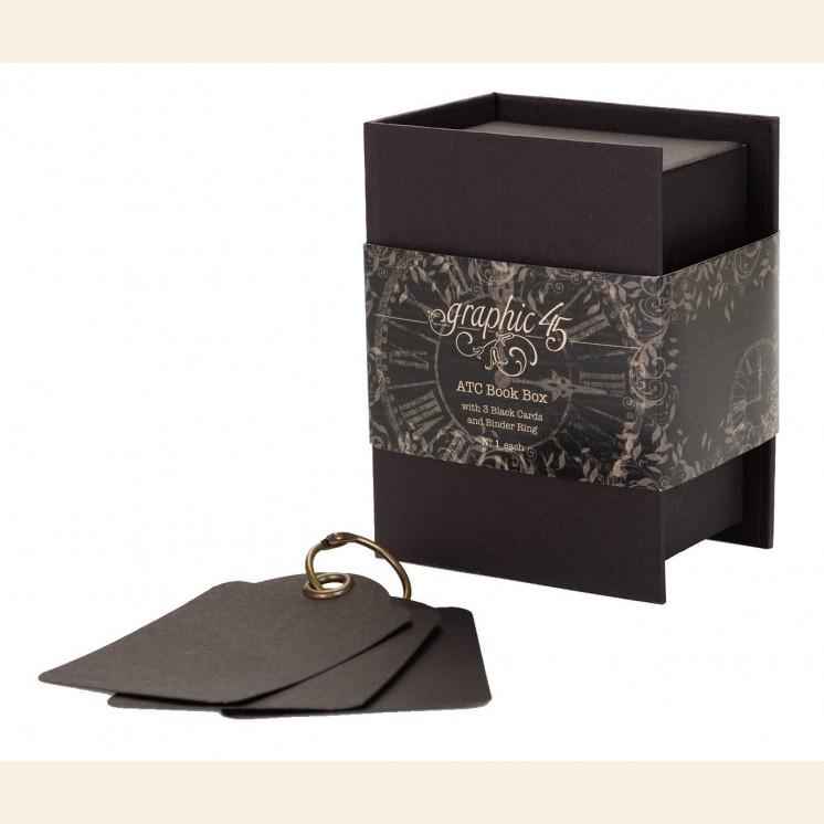 Staples - ATC Book Box - Black