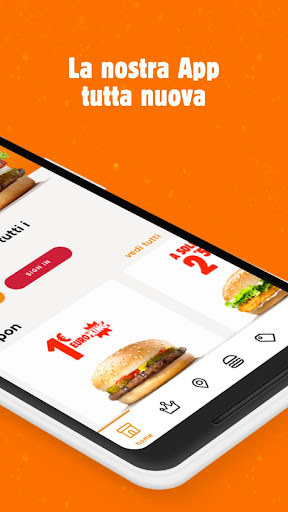 Burger King Italia 3.0.4 screenshots 2