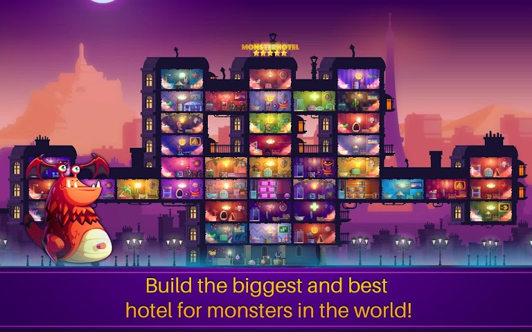 android Monster Hotel Screenshot 4