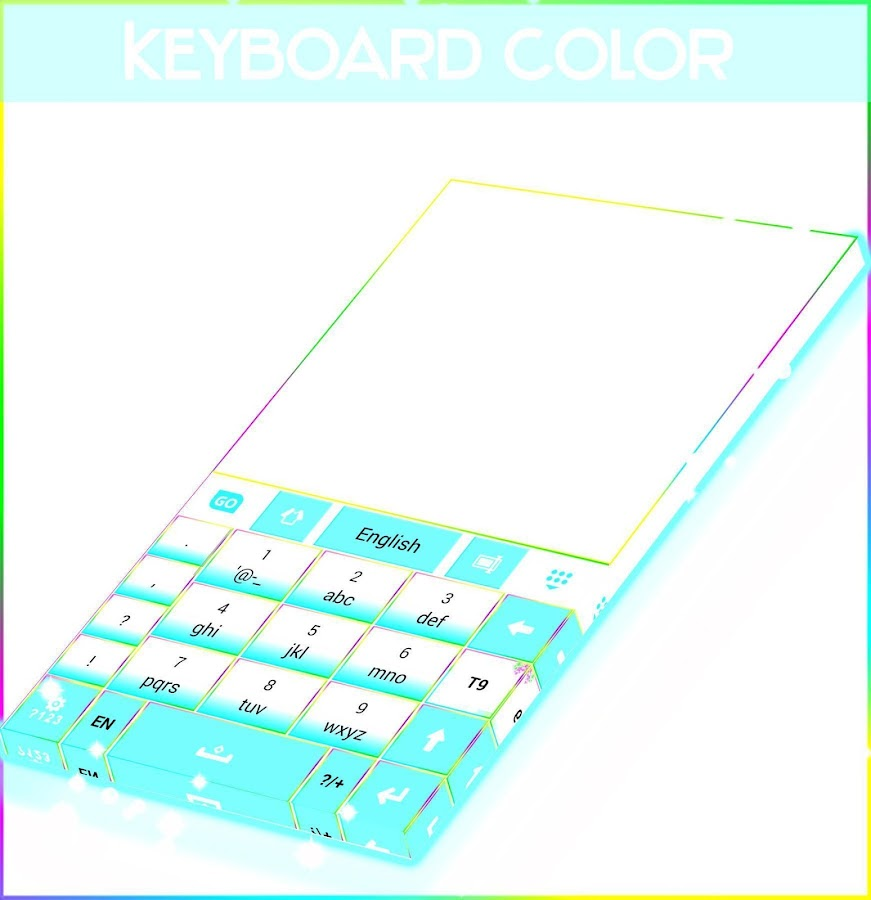 Color Keyboard Theme- screenshot
