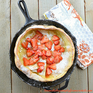 Puff Pancakes aka Dutch Babies