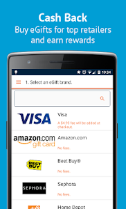 Buy Gift Cards & Visa eGifts screenshot 1