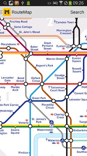 Metro London Subway