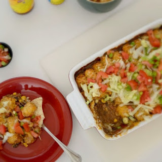 Mexican Tater Tot Hot Dish