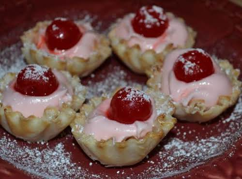 """Cherry Blossoms """"These little bites are packed with creamy, yet intense, cherry..."""