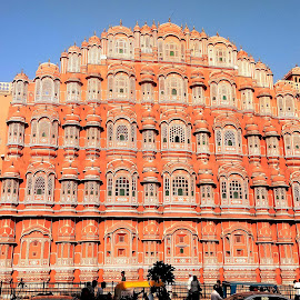 Hawa Mahal, Jaipur, India  by Asif Bora - Instagram & Mobile Other