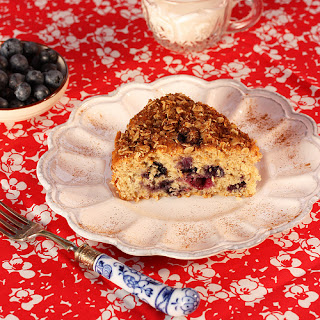 Better Blueberry Buckle