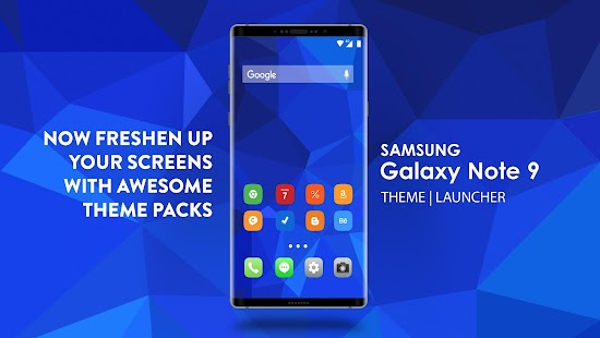 Theme for Galaxy Note 9 - náhled
