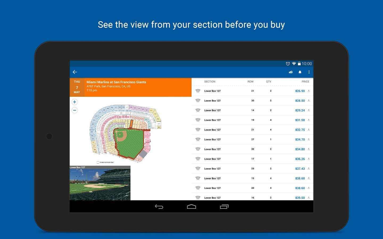 StubHub - Event tickets - screenshot