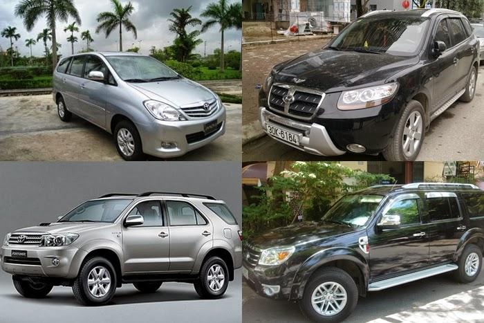 Công ty Huy Đạt chinh phục khách hàng bởi sự đa dạng về các loại xe 7 chỗ