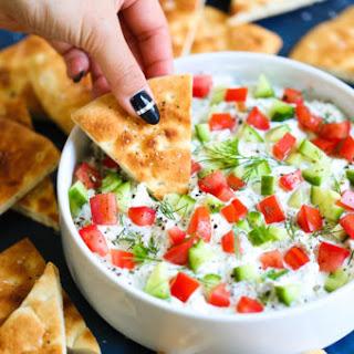 Creamy Greek Feta Dip.