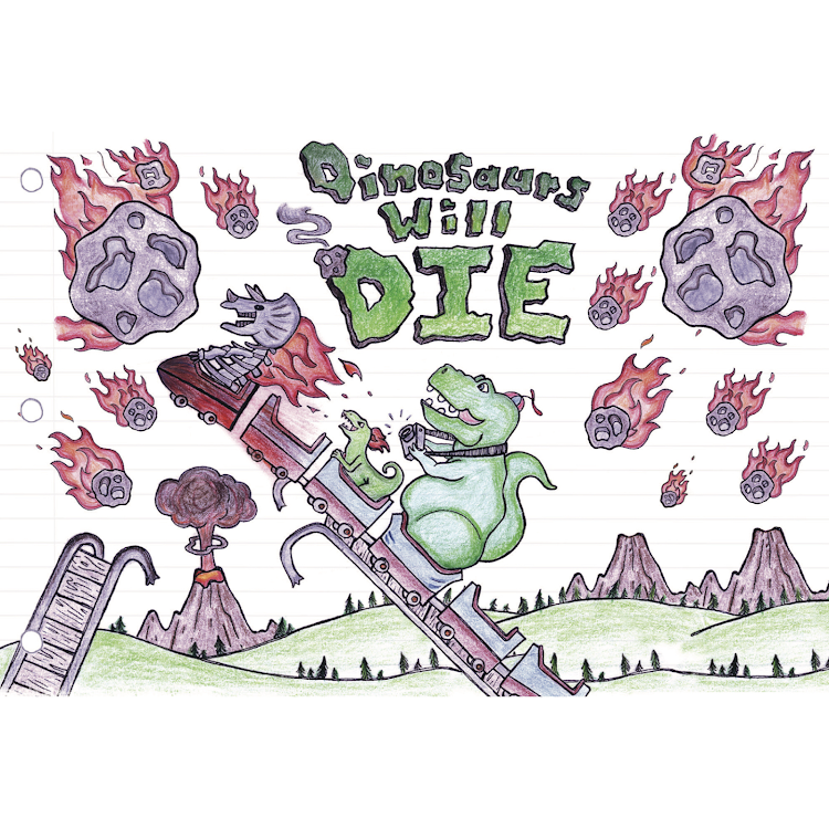 Logo of Oakshire Dinosaurs Will Die