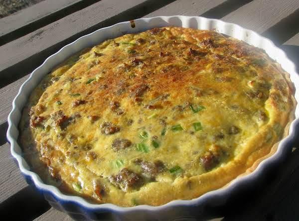 Sausage Quiche Recipe