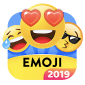 Smiley Emoji Keyboard 2019 - Cute Emoticons Icon