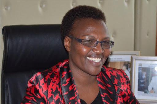 Kenyan ambassador to China Sarah Serem