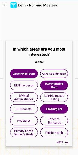 My Nursing Mastery: Student, NCLEX & Nurse's Guide 6.11.4711 screenshots 3