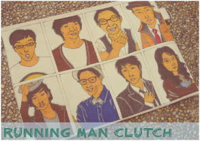 A Customized RUNNING Man team Clutch Purse for Aefa Aerisya