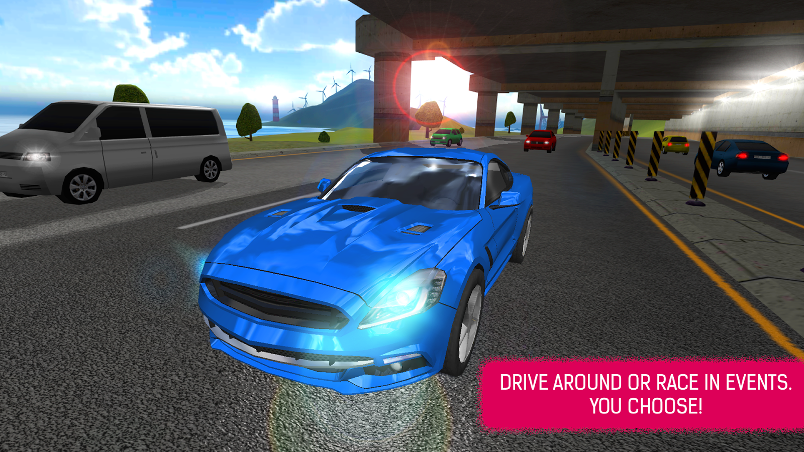 Super car city driving sim free games free online - Car Simulator Racing Game Screenshot