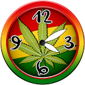 Weed Analog Clock Widget icon