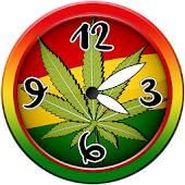 Weed Analog Clock Widget