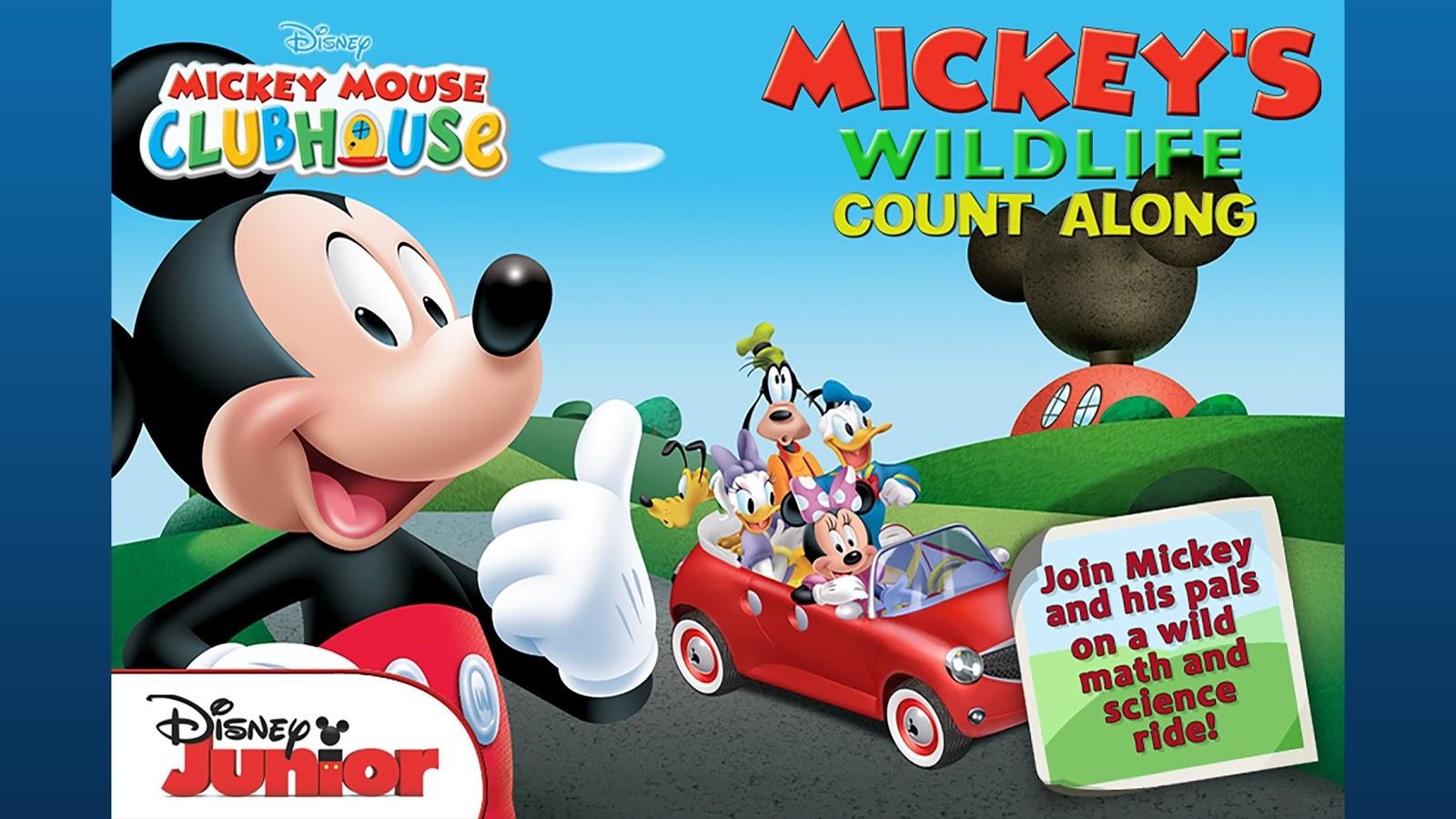 Mickey's Wildlife Count Along- screenshot
