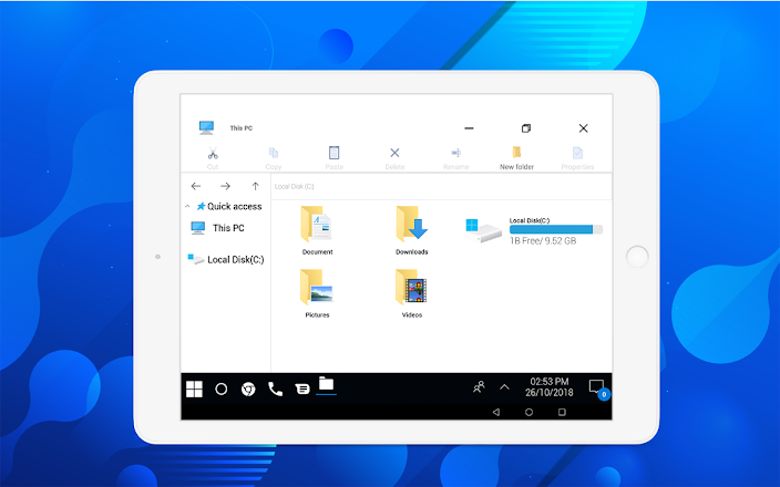 Computer launcher PRO 2019 for Win 10 themes v7.2 [Mod Ad Free]
