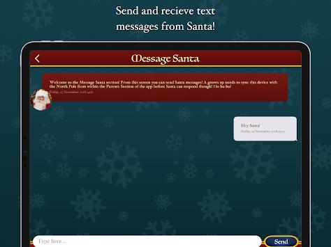 santa video call free north pole command center poster