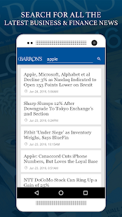 Barron's - Stock Market News- screenshot thumbnail