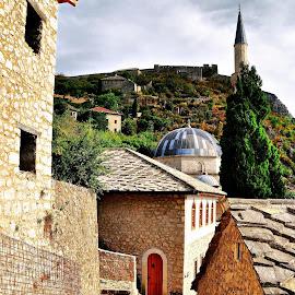 Pocitelj, Bosnia and Herzegovina by Francis Xavier Camilleri - City,  Street & Park  Historic Districts