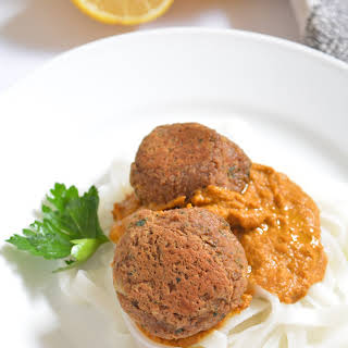 Vegan 'Meatless' Lentil Balls.
