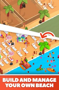 Idle Beach Tycoon Mod Apk (Unlimited Crystals) 1.0.15 1