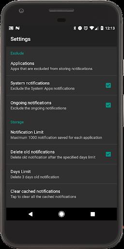 Recent Notification  screenshots 5