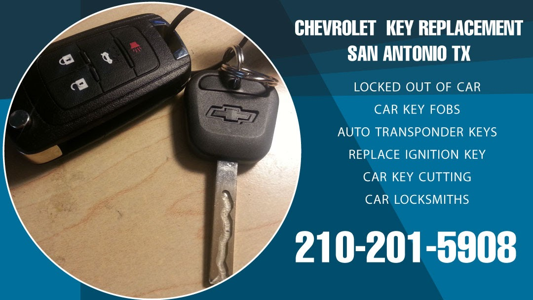 Chevrolet Key Replacement San Antonio TX - Automotive Lockout