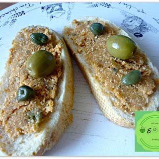 Chickpeas And Olives Paté – Vegan –