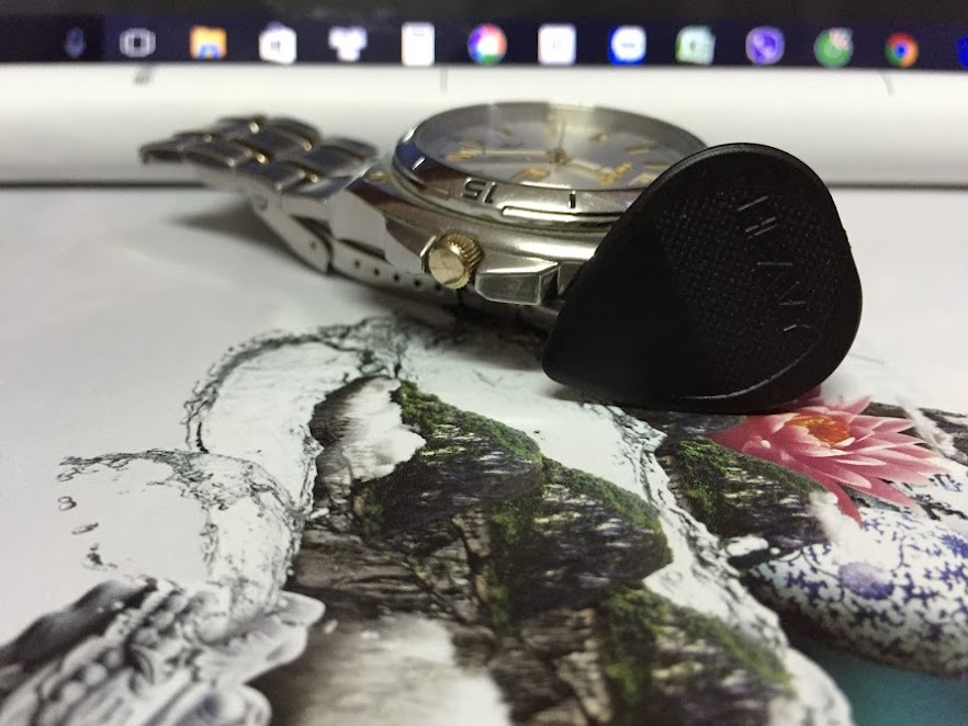 Miếng Gảy - Fred Kelly Nylon Flat Hard Picks (0.9 mm)