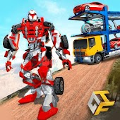 OffRoad Robot Transport Truck Driving Simulator