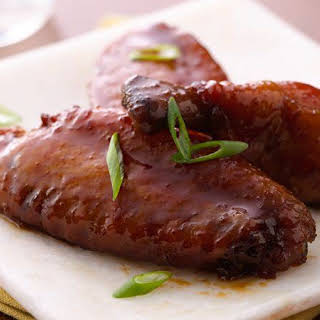 Slow-Cooker Teriyaki Chicken Wings.