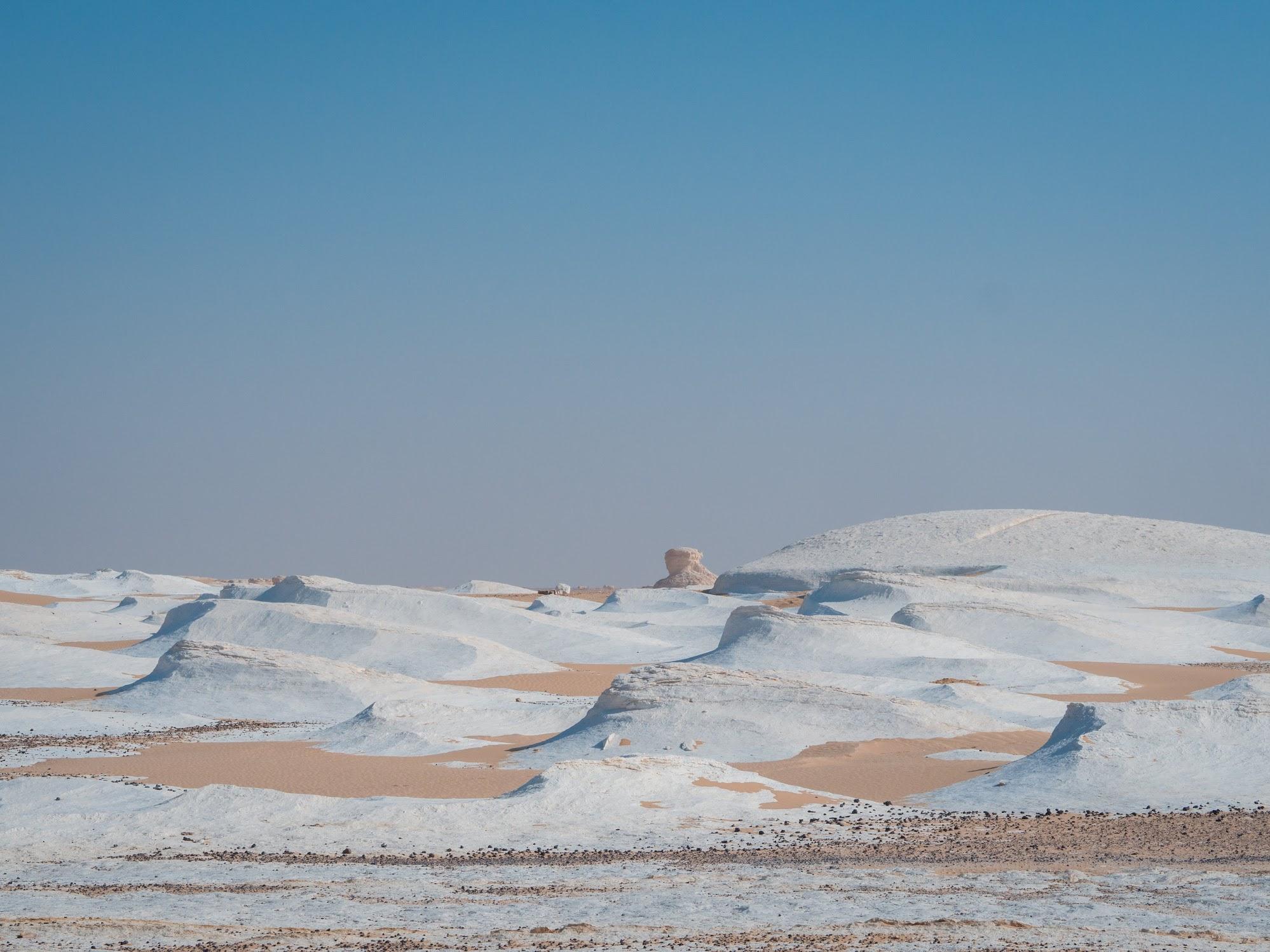 White Desert near Bahariya Oasis, Egypt
