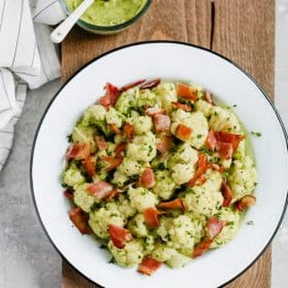 Creamy Avocado Cauliflower Salad Recipe